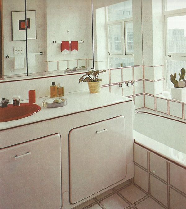 1970s Bathroom Tiles: The Bed And Bath Book / Terence Conran, 1978
