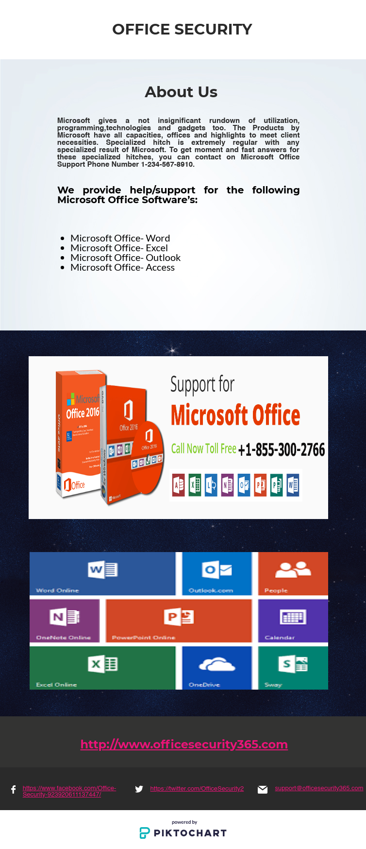 If you're facing problems with Microsoft office support or
