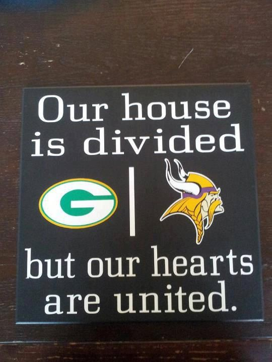 Personalized Nfl House Divided Sign By Vinylupyourspace On