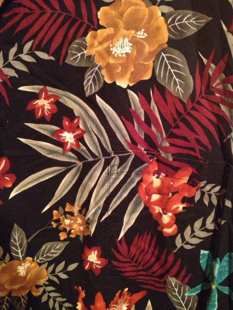 Big /& Tall Ukulele Hawaiian Aloha Shirt