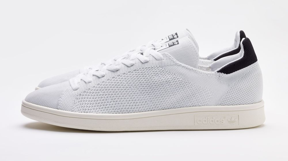adidas originals stan smith primeknit white black