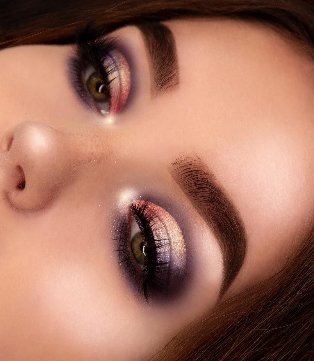 32 eye makeup from Norvina Palette eye shadow