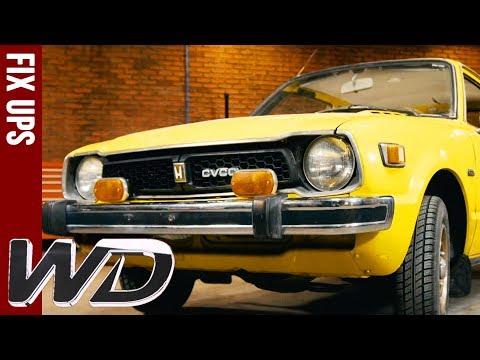 Edd Transforms 1970s Honda Cvcc Wheeler Dealers Wheeler Dealers Honda Cvcc