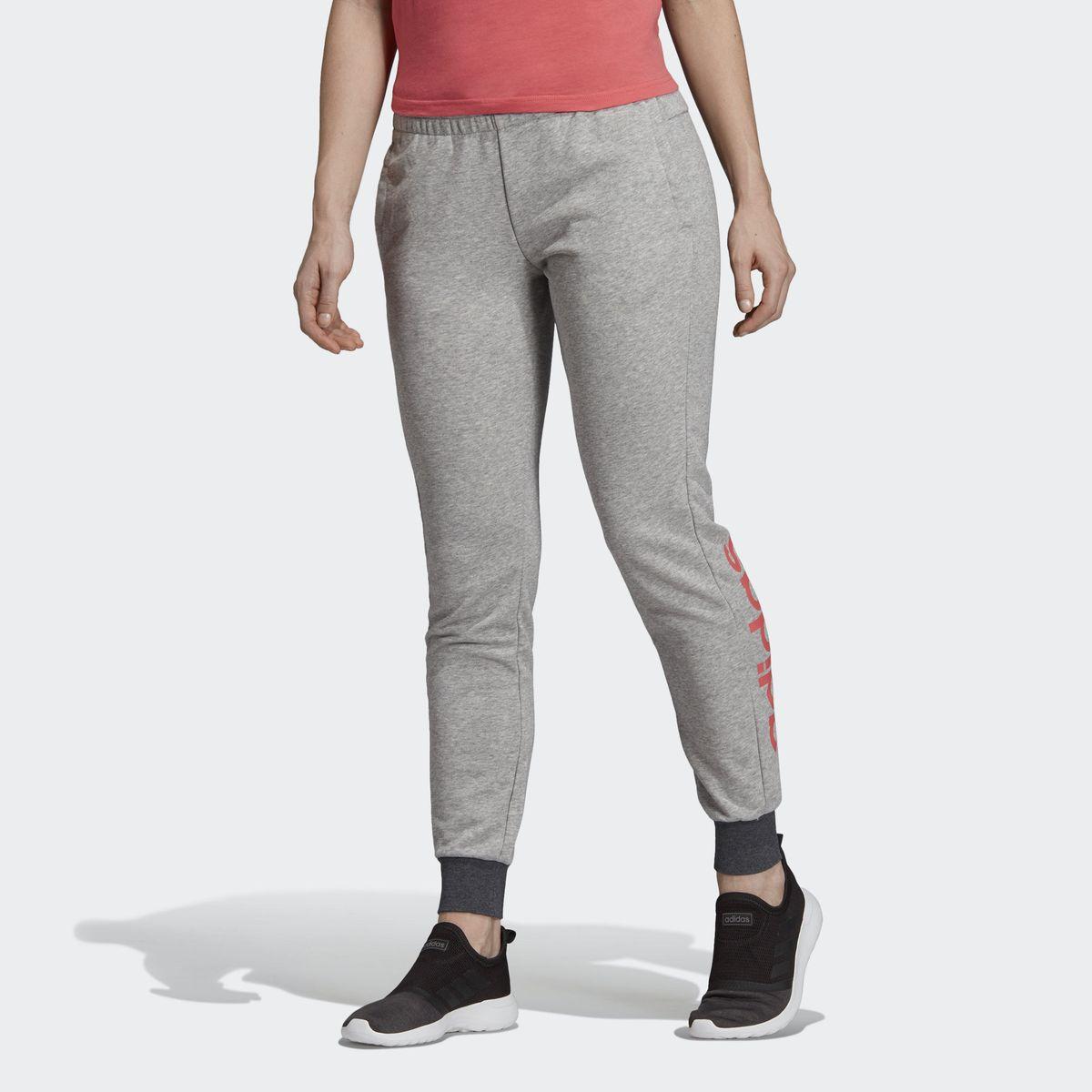 Pantalon Essentials Linear | Products | Adidas, Molleton et Gris