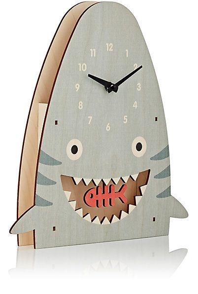 Modern Moose Shark Pendulum Clock