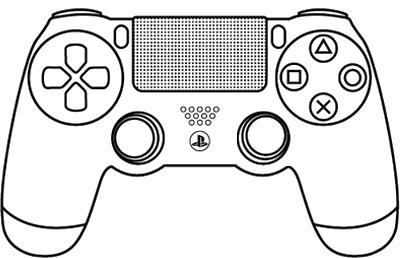 Bildergebnis Fur Videogame Controller Clipart Ps4 Ps4 Controller Skin Ps4 Controller Ps4