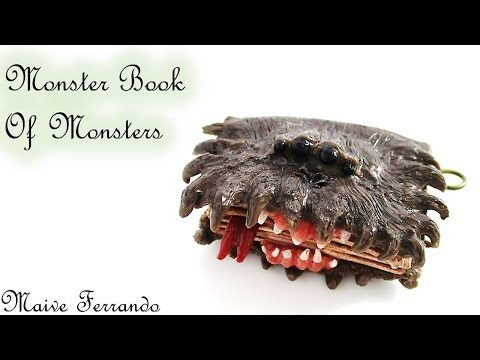 Miniature Polymer Clay Harry Potter39s Monster Book of