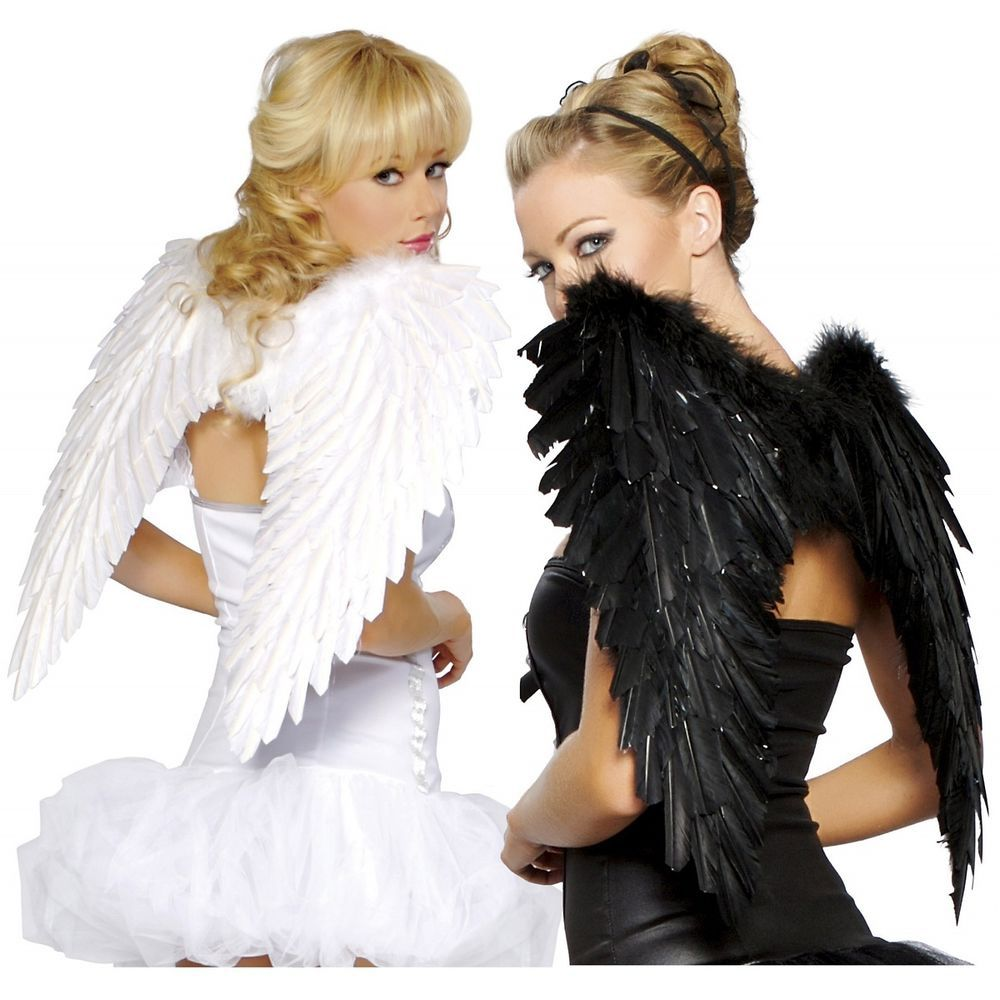 Costume Wings for Adult or Teen Dark Fallen Angel Raven ...