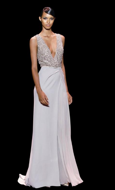 vestidos de fiesta para invitadas - colección 2014 elie saab