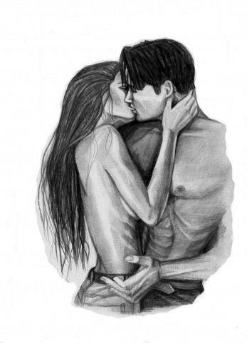 Девушка и парень любовь картины