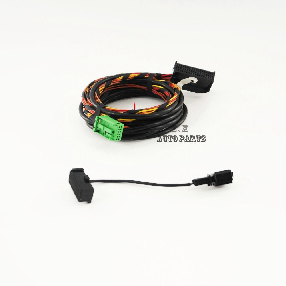 [TVPR_3874]  Bluetooth Wiring Harness Cable 9W2 9W7 Fit VW Golf Jetta Passat RCD510  RNS510 1K8 035 730 D NEW | Car electronics, Electronic accessories, Vw golf | Vw Golf Wire Harness |  | Pinterest