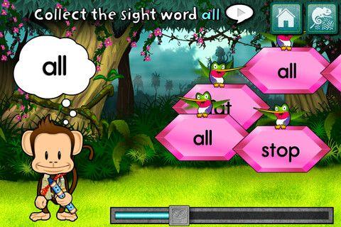 Monkey Word School Adventure Ipad kids, Learning games