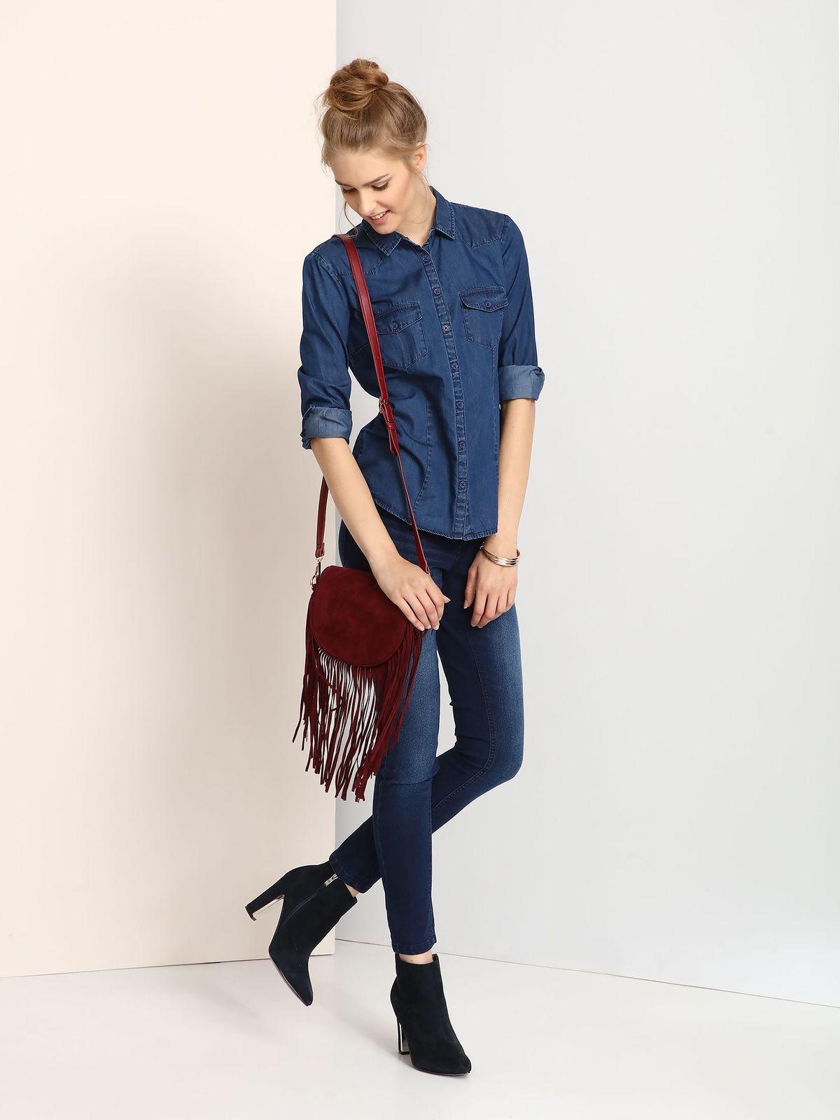 d6b177301c46 TROLL γυναικειο τζιν πουκαμισο