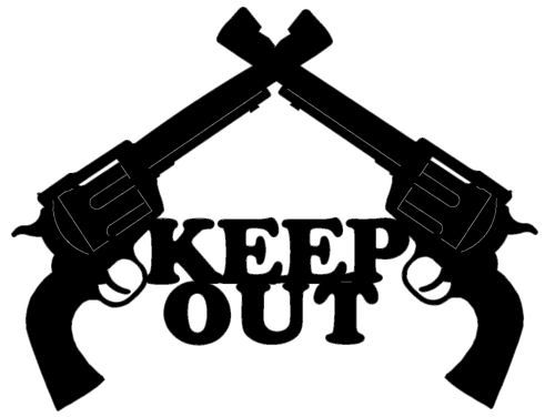 Custom Metal Signs Cut Outs Gu06b Ruger 44 Magnum Keep