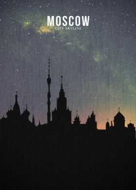 MOSCOW | Displate thumbnail