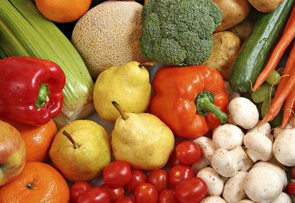 Vegetales en el refri