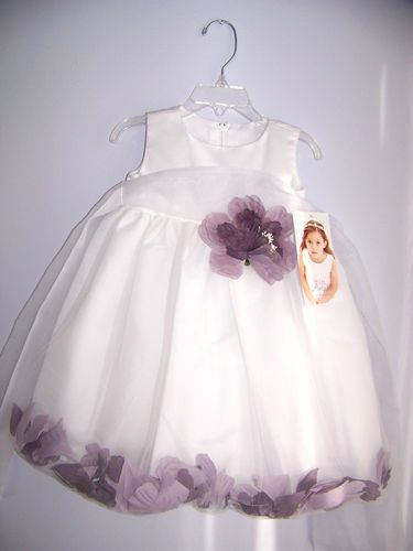 Heavenly Lilac Flower Girls Dress by US Angels 24 Months. New with Tags by Turtlestones Boutique