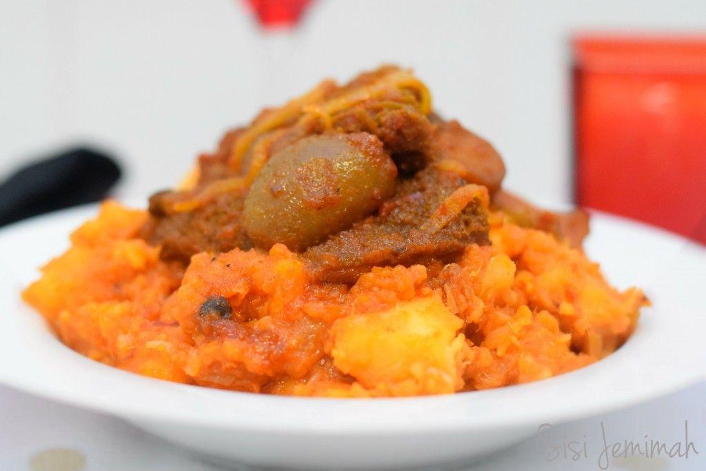 Yam Porridge - Asaro Ati Ata Dindin | Food, Nigerian food, African ...