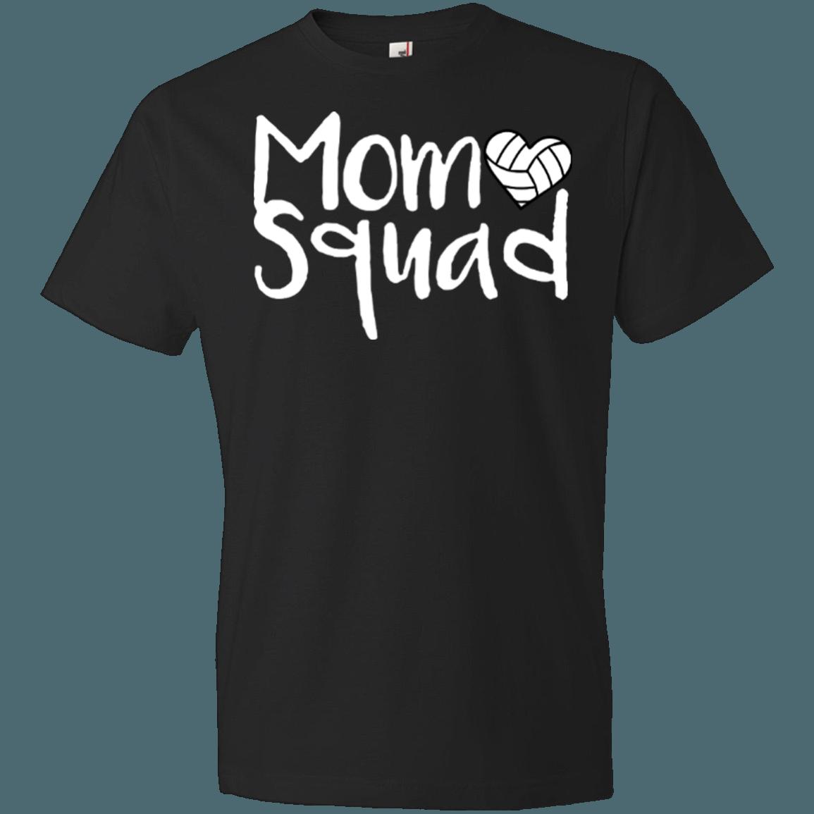 Unisex Shirt Mom Squad Volleyball Volleyball Shirts Volleyball Mom Shirts Sports Mom