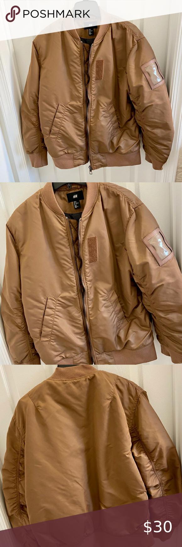 HM Men's Puffer Jacket Puffer jacket for men. Preloved