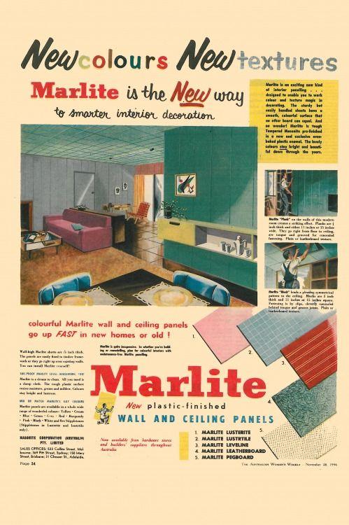 Australian mid-century advertising | Advertising, Butterfly chair ...