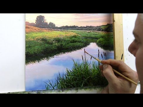 59 How To Paint A River Bank Oil Painting Michael James Smith Oil Painting Tutorial Painting Tutorial Oil Painting Techniques