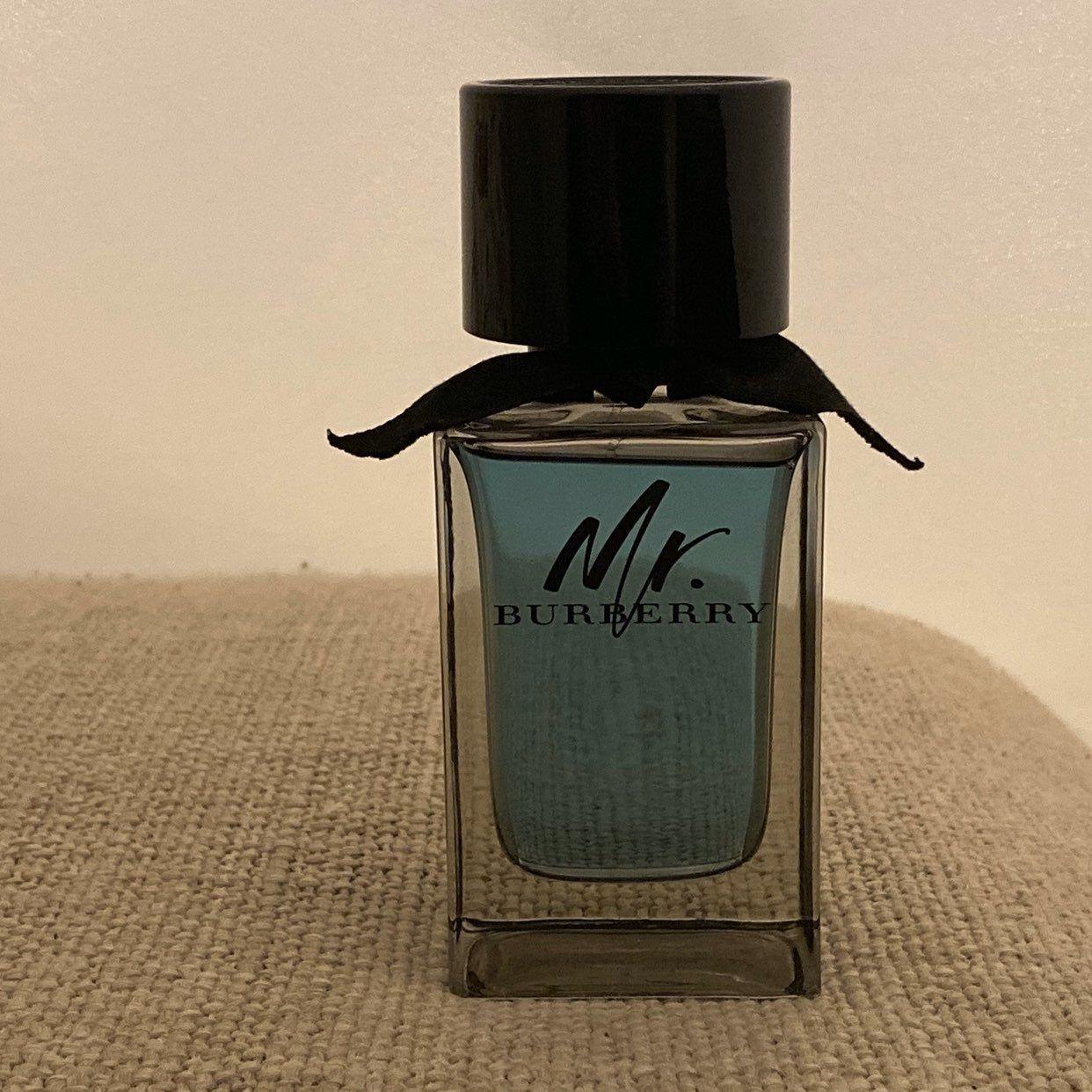 Mr Burberry Men S Cologne Spray Bottle 3 3 Fl Oz In Great Like New Condition Burberry Men Cologne Spray Perfume Bottles
