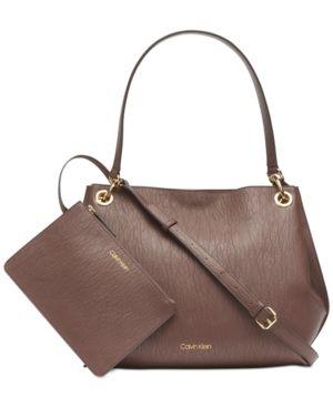 CALVIN KLEIN RAYA HOBO bags