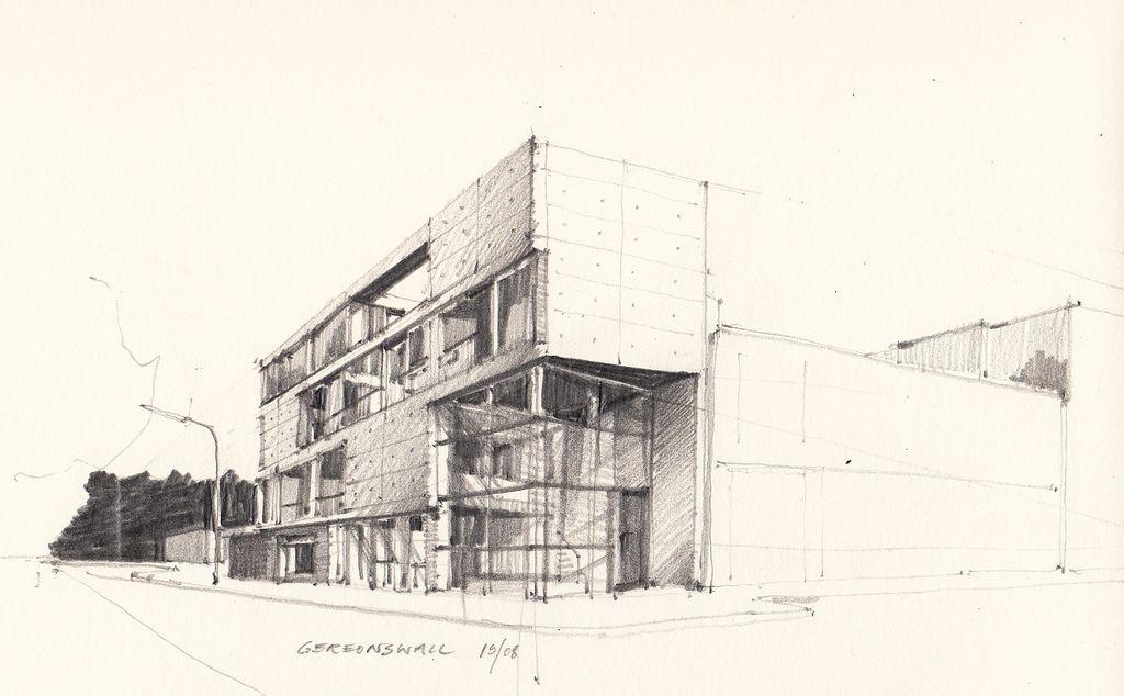 Schilling Architekten gereonswall schilling architekten arno croquis and graphite