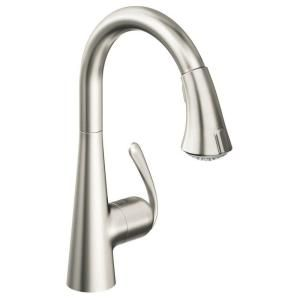 336 Grohe Ladylux Cafe Single Handle Pull Down Dual Sprayer