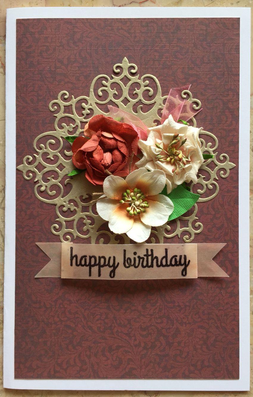 Birthday Card For My Mum S 70th Birthday Cards Handmade Birthday Cards Card Maker