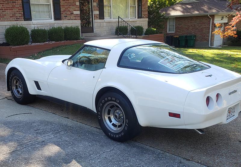 For Sale 1981 Corvette Coupe Auto White Exterior Tan Interior Located In Saint Louis Missouri Corvette Corvette For Sale Chevy Corvette For Sale
