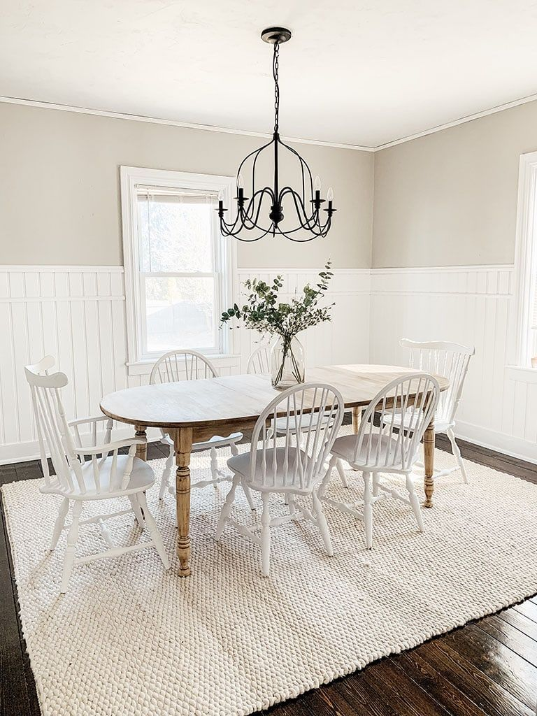 Diy dining room table makeover farmhouse dining chairs