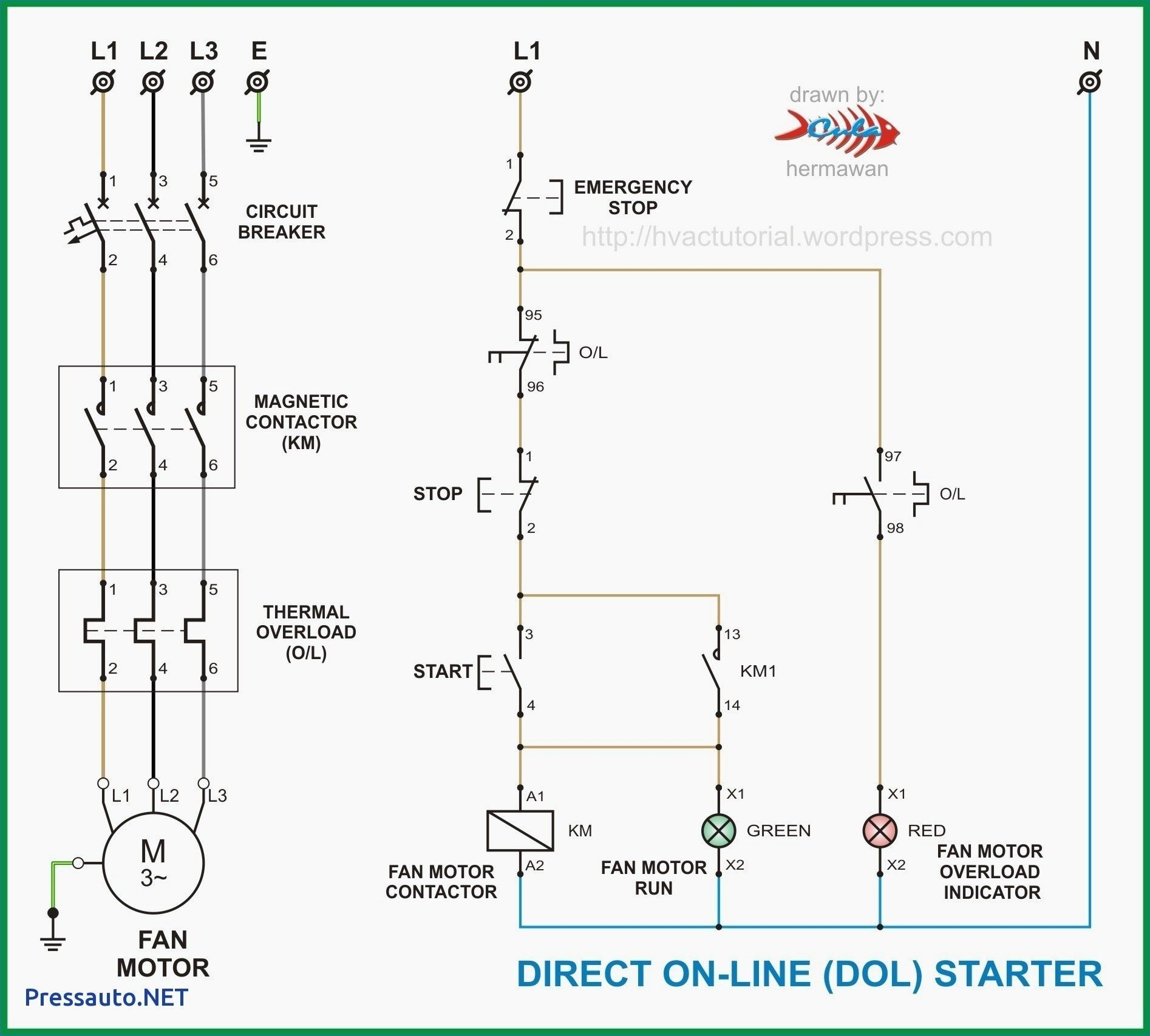 new contactor wiring diagram single phase diagram diagramtemplate diagramsample [ 1894 x 1707 Pixel ]