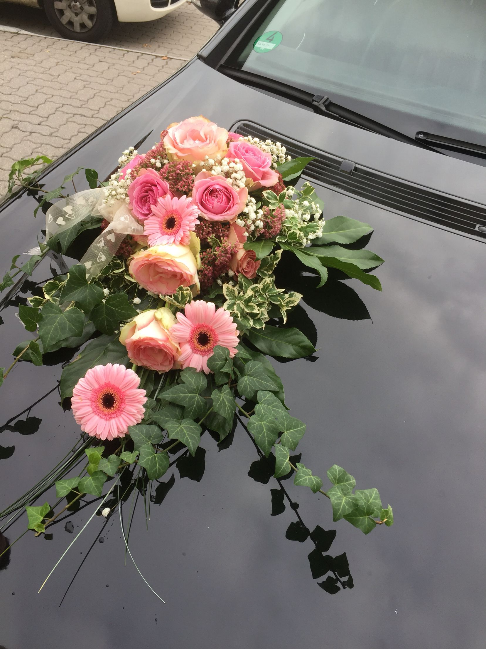 Hochzeit Autogesteck | auto ślubne in 2019 | Wedding car ...