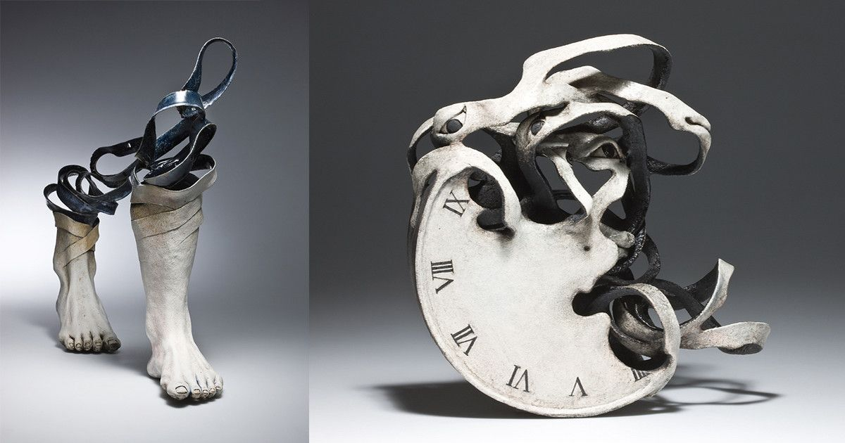 Ceramic Sculptures That Unravel Before Your Eyes Ceramic Sculpture Sculptures Sculpture Art