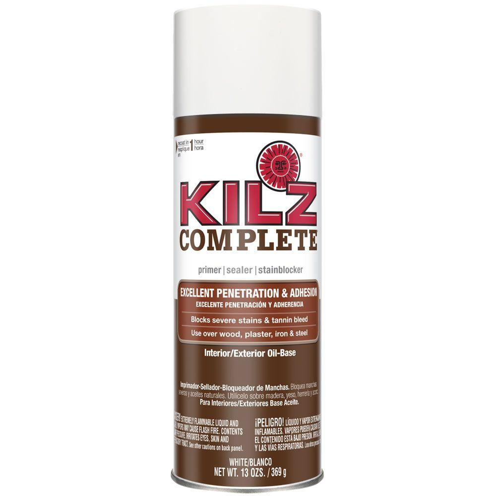 Kilz Complete 13 Oz White Oil Based Interior Exterior Primer