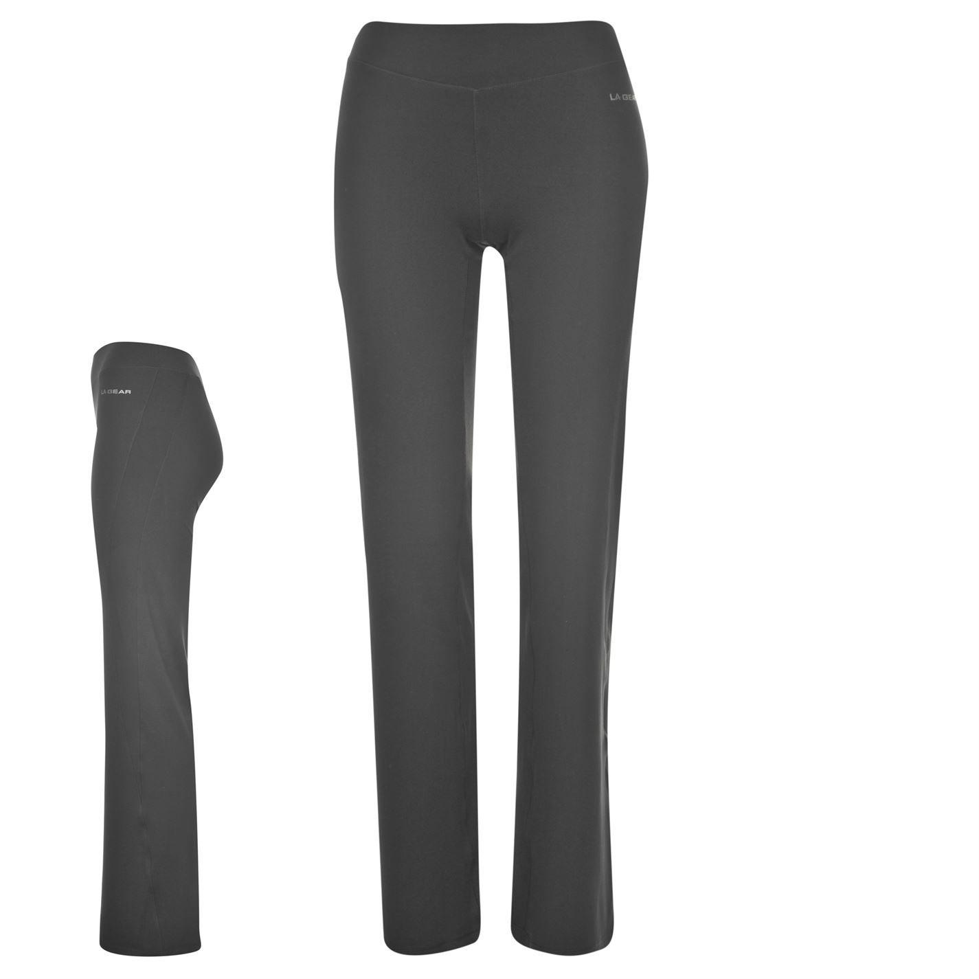 LA Gear three quarter Capri Leggings Ladies Capris Pants Trousers Bottoms
