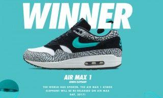 sports shoes f8388 5b841 The atmos x Nike Air Max 1