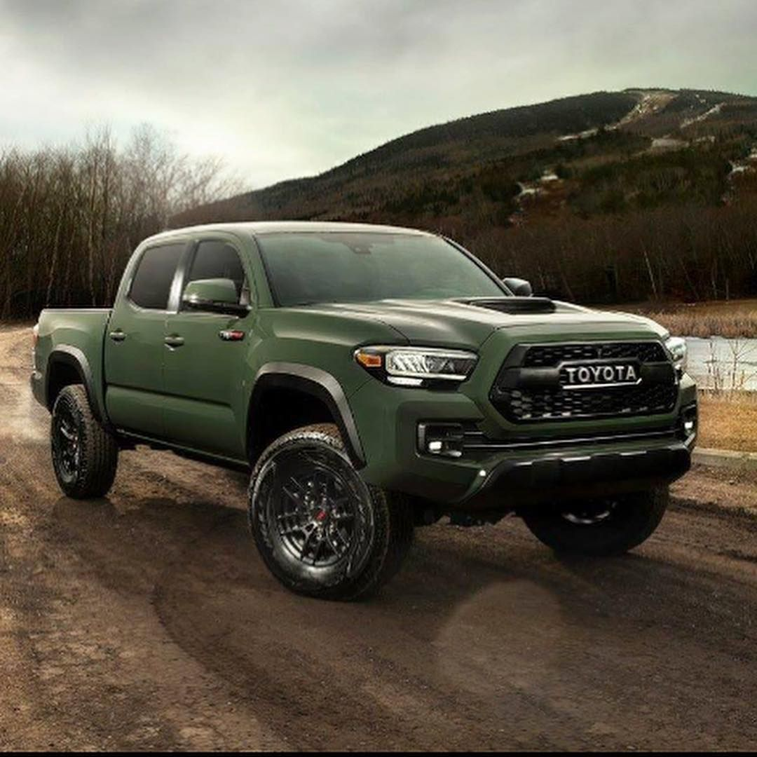 Everything Toyota S On Instagram Thoughts On The New 2020 Trd Pro Color Toyota Tacoma Lifted Toyota Tacoma Toyota Tacoma Trd Pro