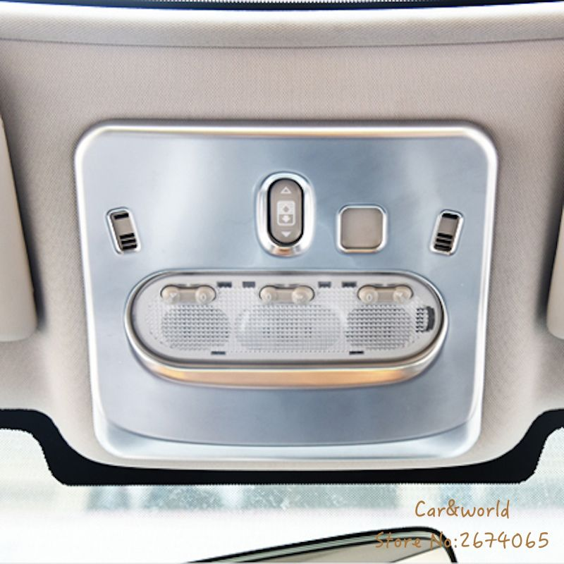 For 2014 To 2017 Nissan Qashqai J11 Reading Lamp Lights Cover Car Interior Abs Chrome Auto Styling Accessories Nissan Qashqai Lights Car Lights