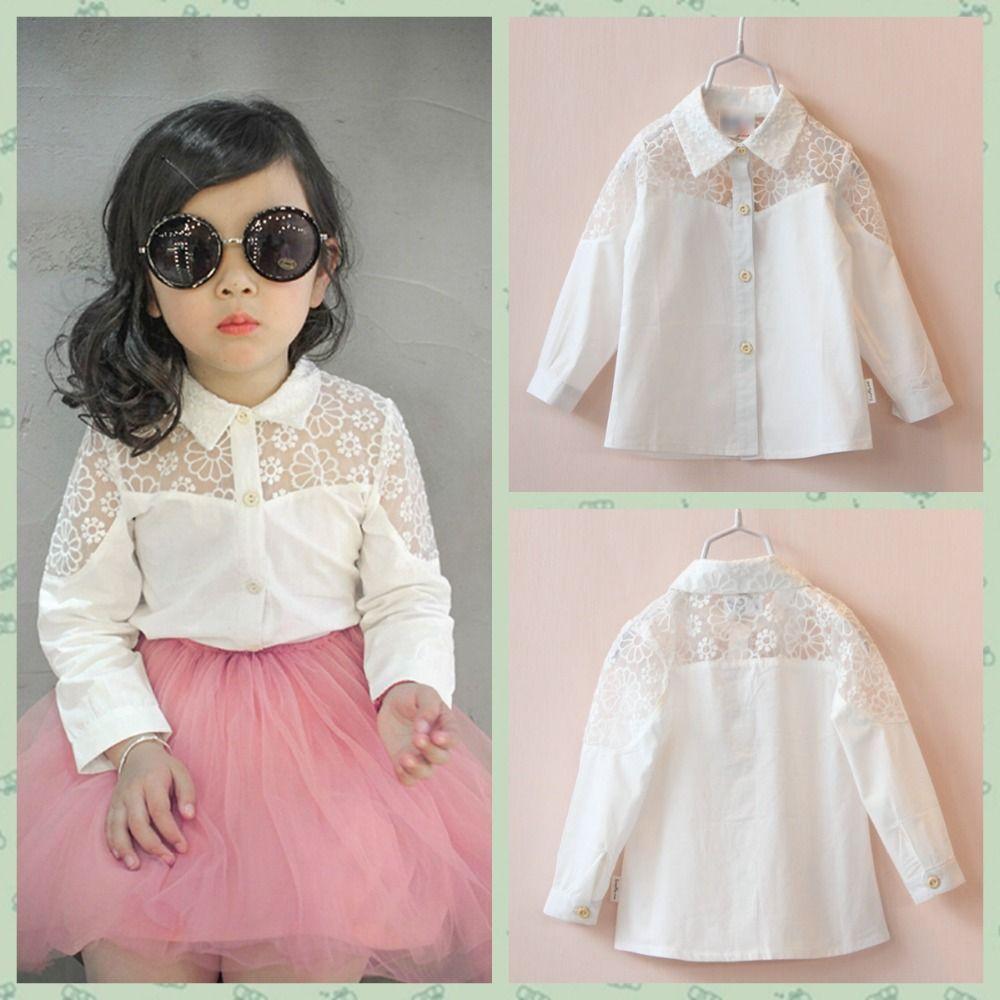 73f2f156b blusas elegantes de niña - Buscar con Google Moda Para Niñas