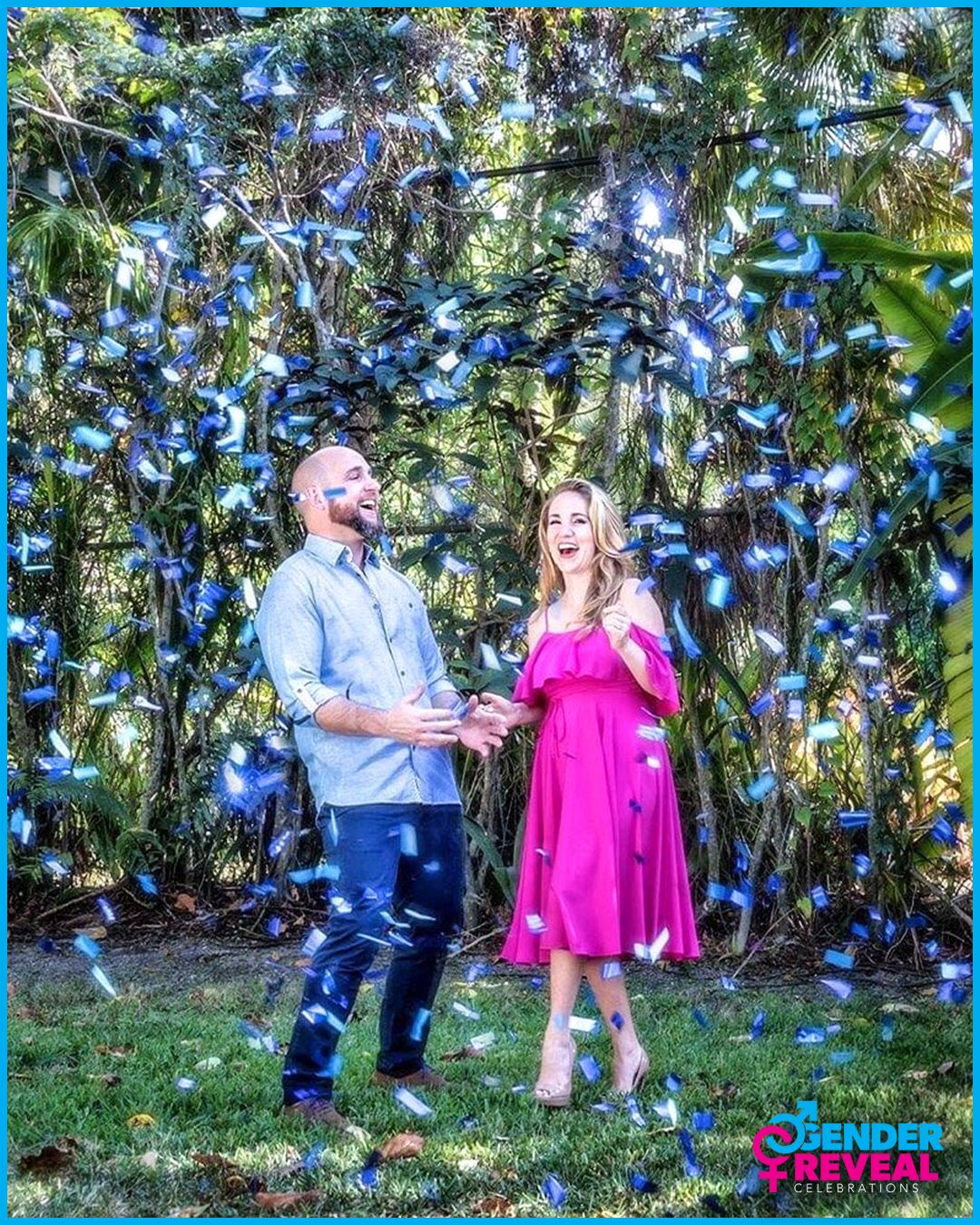 Pin On Gender Reveal Confetti Cannons