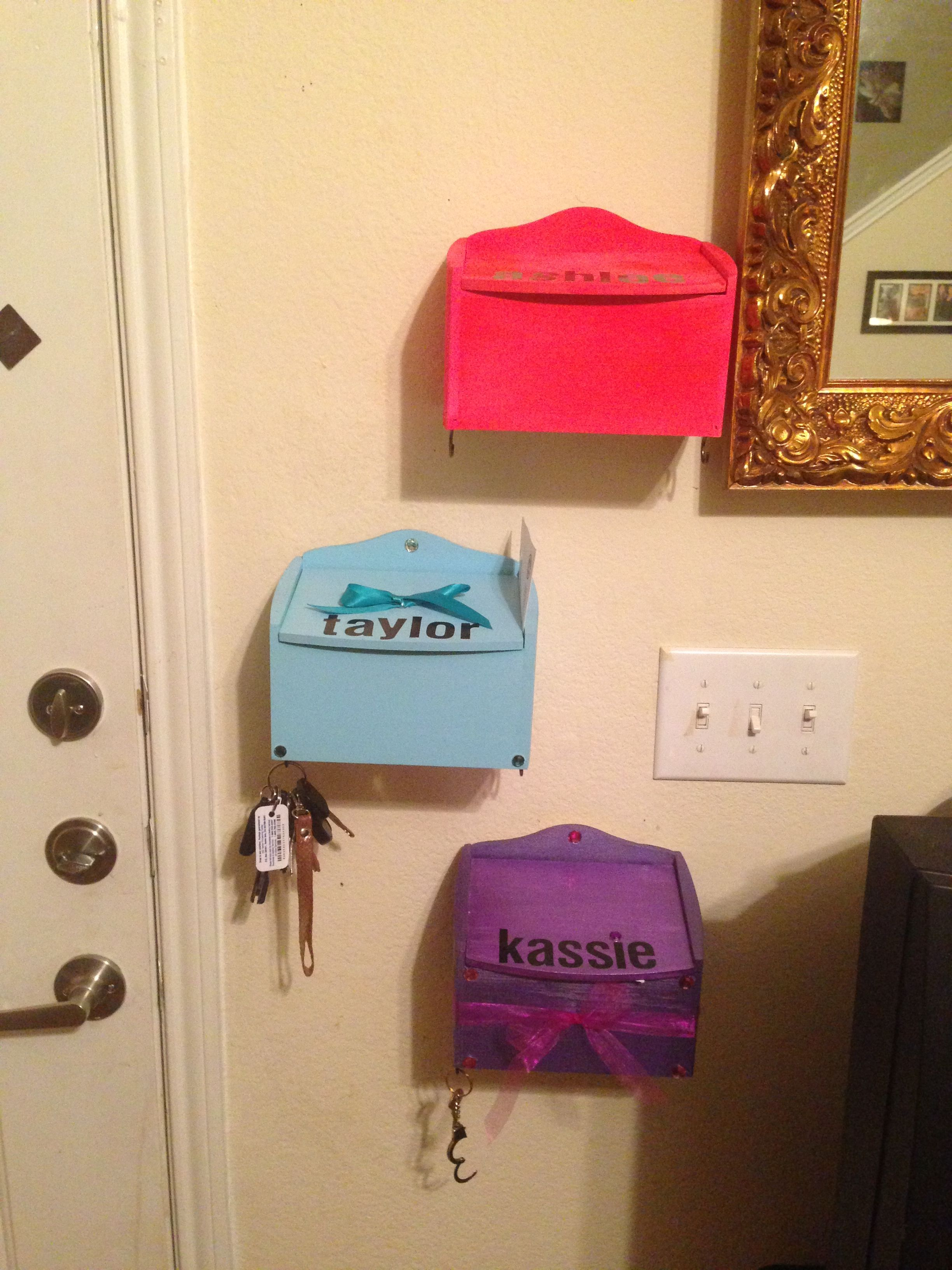 Diy roommate mailboxes roommate gifts dorm diy
