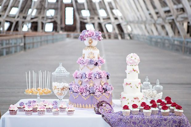 Elizabeth Cake Emporium - mini wedding cake for night before, just because we can. : )