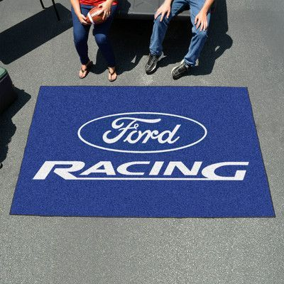 FANMATS Ford - Ford Racing Ulti-mat Color: Blue