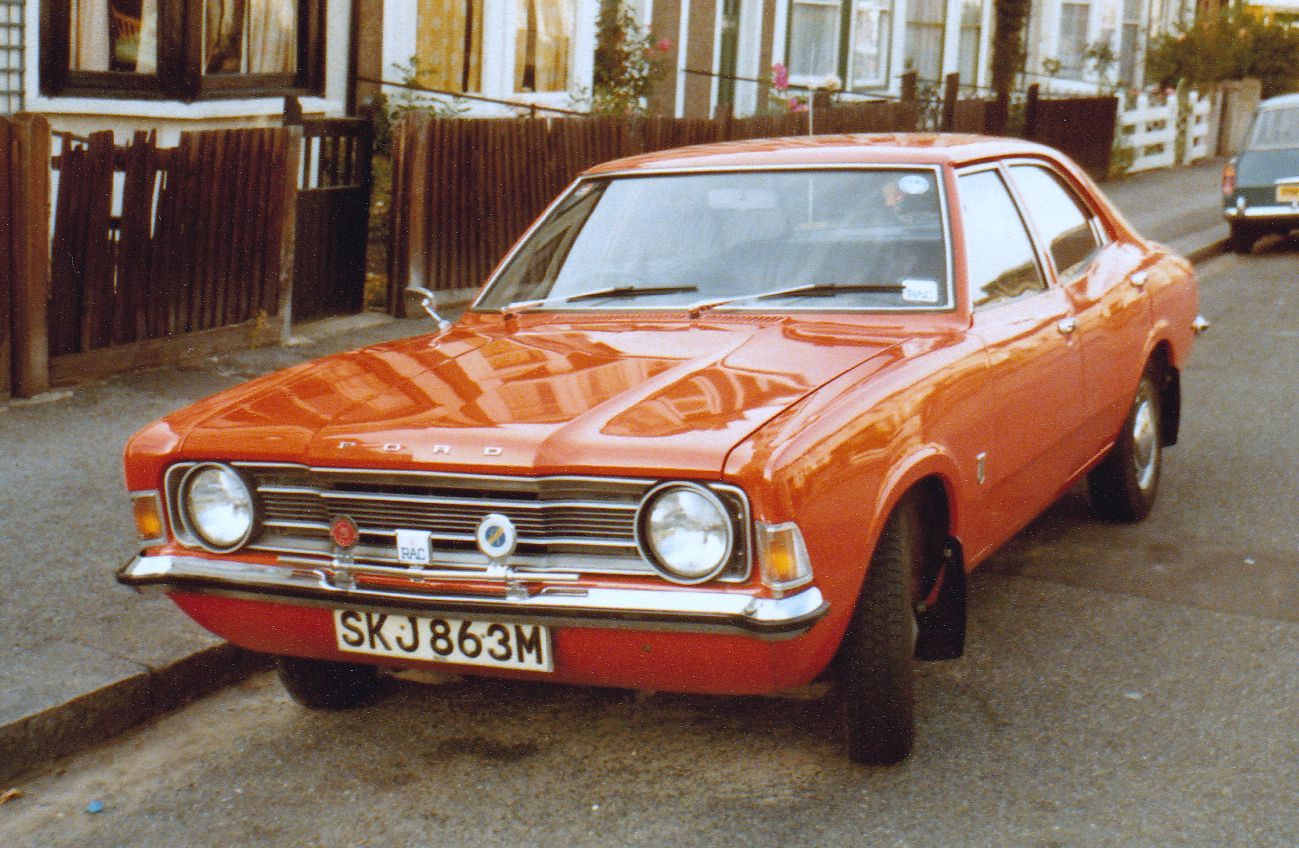 1973 ford cortina mk3 xl 1600 cc - i had this for couple years but