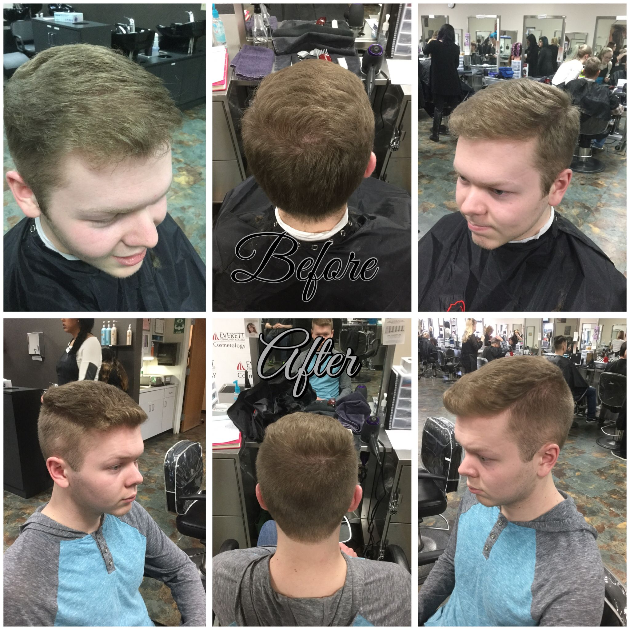 2 Guard On Sides And Shear Work On Top 21716 Mens Haircuts