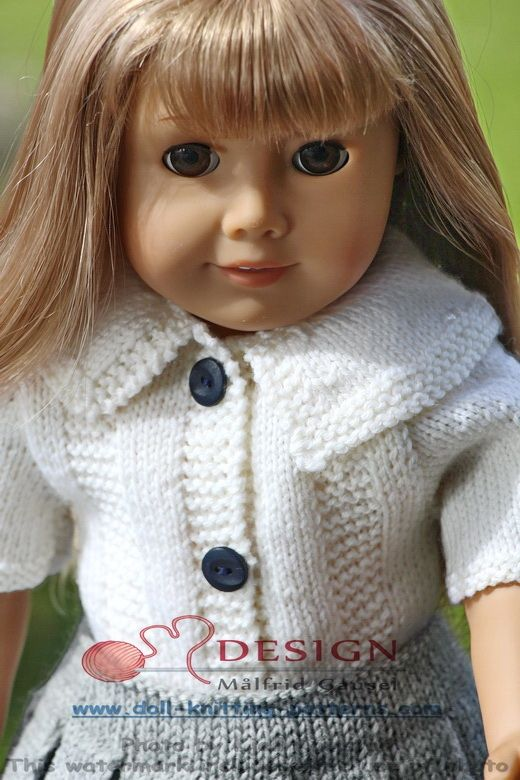18 inch doll knitting patterns (With images) | Crochet ...