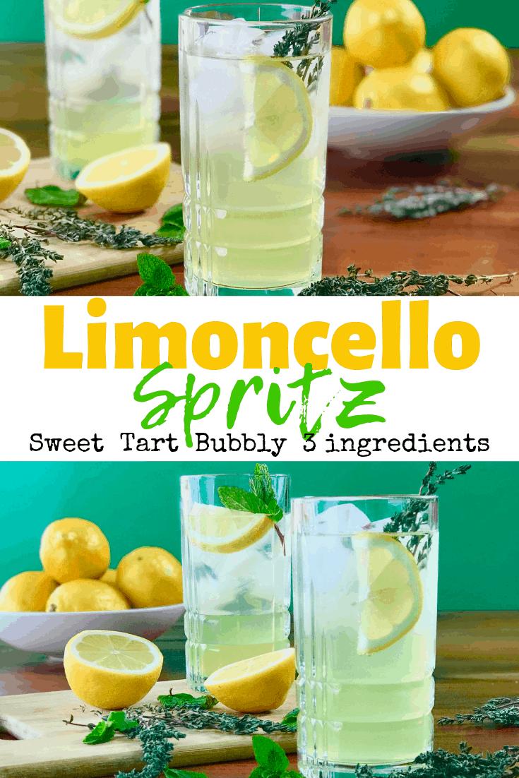 Limoncello Spritz #limoncellococktails